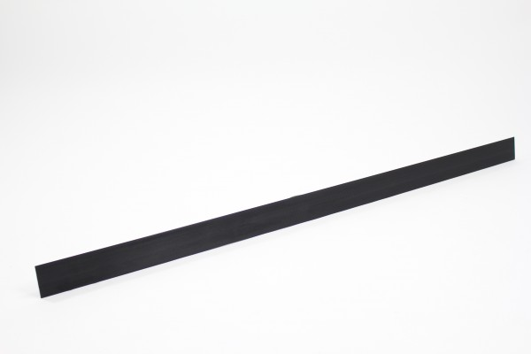 Kunststoff-Klemmleiste 100 x 2,0 x 0,3 cm